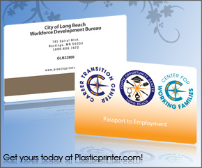 Plastic Access Card Printing Sample 11