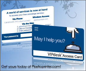 Plastic Access Card Printing Sample 4