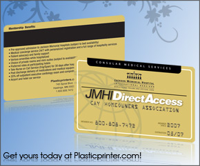 Plastic Access Card Printing Sample 6