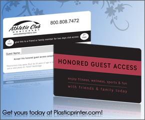 Plastic Access Card Printing Sample 8