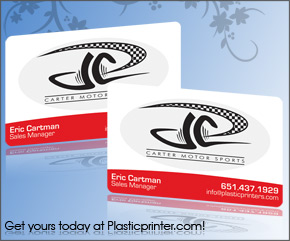 Plastic Business Card Sample 14