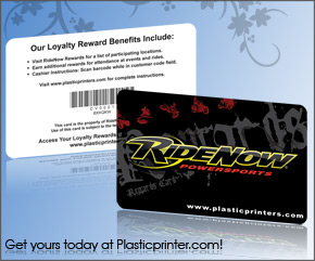 Plastic Business Card Sample 15