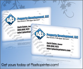 Plastic Business Card Sample 16