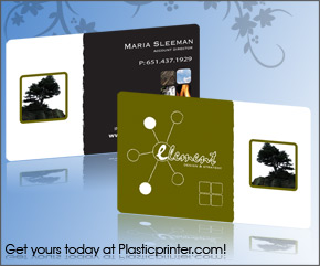 Plastic Business Card Sample 17