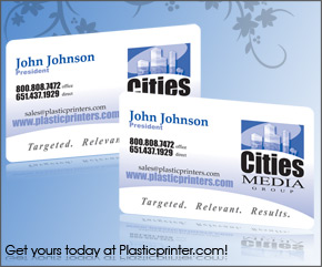 Plastic Business Card Sample 20