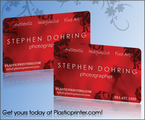 Plastic Business Card Sample 7