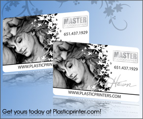 Plastic Business Card Sample 8