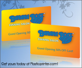 Plastic Discount Card Printing Sample 10