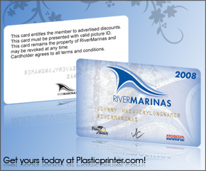 Plastic Discount Card Printing Sample 16