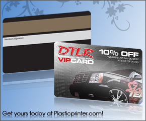 Plastic Discount Card Printing Sample 18
