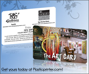 Plastic Discount Card Printing Sample 4