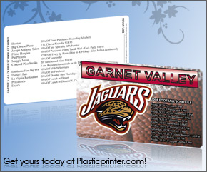 Plastic Discount Card Printing Sample 5