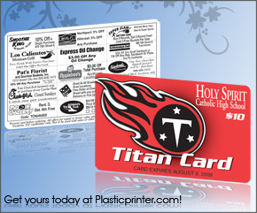 Plastic Discount Card Printing Sample 8